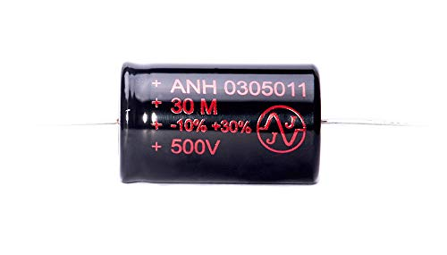 JJ Electronics Electrolytic Audio Capacitor, 30uF - 500V