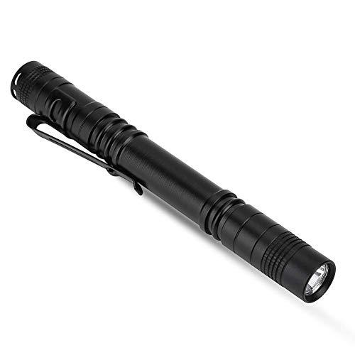 Tbest Stiftlampe, LED Pen Light Penlight Taschenlampe, 2pcs 1200 Lumen Sehr hell Stiftlicht Mini Pocket Stift Licht mit Clip für Arzt Krankenschwester Studenten Powered by 2 x AAA Batterie 3 Modus