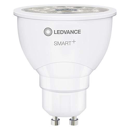 Osram Smart+ ZigBee Parathom - Lampada riflettore 4,5 Watt GU10 827, luce bianca calda extra PAR16