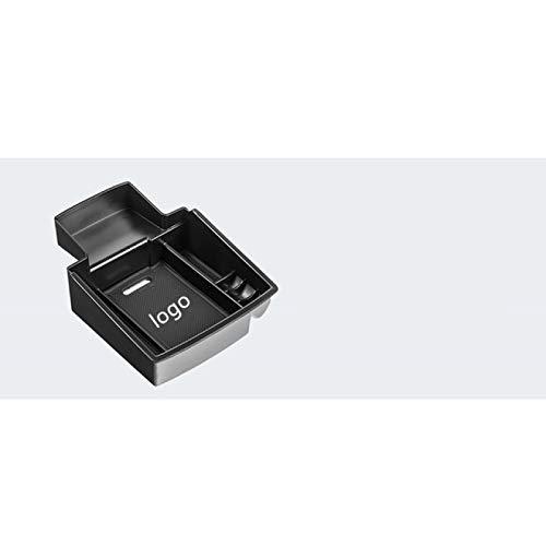 Tonyzhou Co.,ltd Auto-Organizer, für Audi Q5 2009-2017 Zentralarmlehnen-Aufbewahrungsbox Containerhalter Tablett Auto-Styling