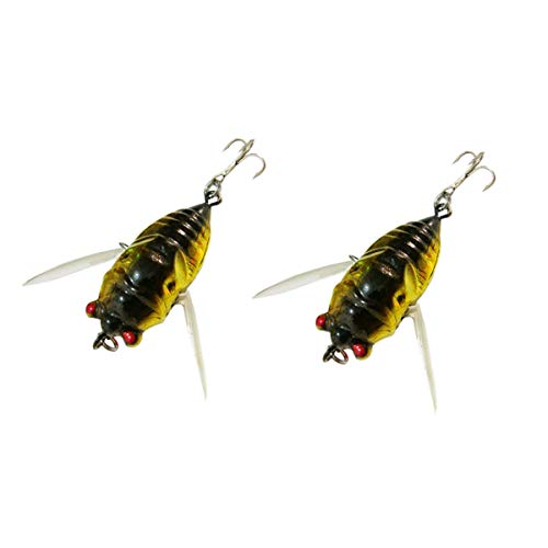 bouti1583 Fishing Tackle Lure Snakehead Bass Killer Insect Cicada...