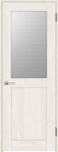 ラシッサS 標準ドア ASTH-LGH 錠付き 0720 W:780mm × H:2,023mm 吊元:左吊元 本体色/枠色:クリエアイボリー(WA) 枠種類:ノンケーシング156(壁厚:116-130) 沓摺:なし 把手:サークルB 鍵種類:丸型シリンダ