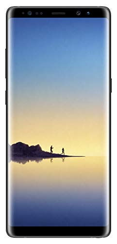 Samsung Galaxy Note 8 N950 Factory Unlocked Phone 64GB Midnight Black (Renewed)