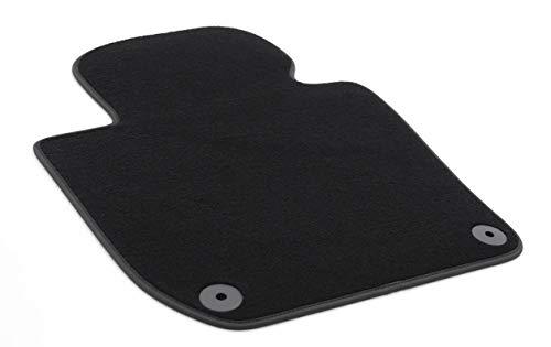 Fußmatte passend für Superb 2 II 3T Premium Qualität Velours Automatte Fahrerseite schwarz