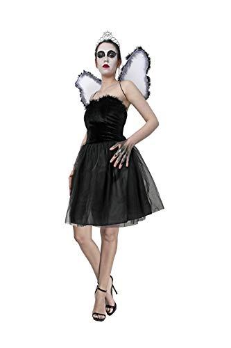 Costumizate! Disfraz de Cisne Negro para Mujer Adulta Talla Unica Halloween