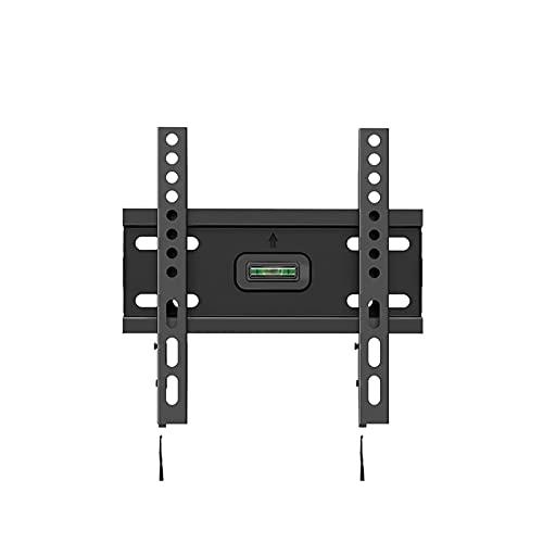 Pkfinrd Soporte de TV universal para montaje en pared fácil de instalar, soporte de TV LCD de 17 a 32 pulgadas para montaje en pared