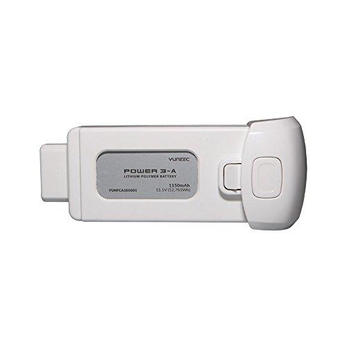 Yuneec Breeze MyFlyingCamera Batteria LiPo, 1150 mAh, Bianco