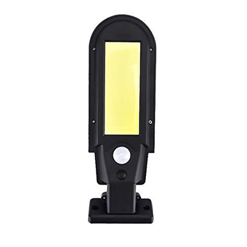 Solar Light Street Lamp Motion Sensor Built in Long Battery Life Outdoor Powered Sunlight Waterproof LED Bulbs