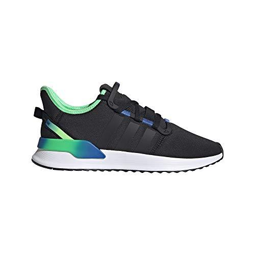 adidas U_Path Run, Zapatillas de Gimnasio para Hombre, Core Black Core Black Shock Lime, 48 2/3 EU