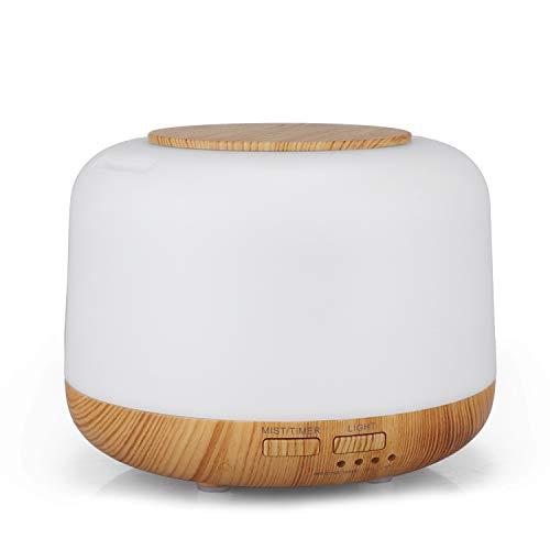 Wonderful thoughts humidifier MUJI Luftbefeuchter Nachthimmel Holz Aroma Luftbefeuchter Ultraschall-Zerstäubung Luftbefeuchter Haushalt Geschenke,Lightwood