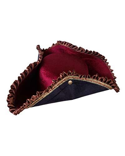 Sombrero de pirata romántico.