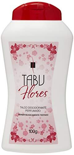 Talco Perfumado 100G Flores Unit, Tabu