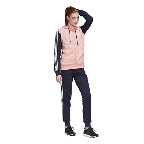 adidas Womens W Ts Co Energiz Tracksuit, Glory Pink/Legend Ink, L
