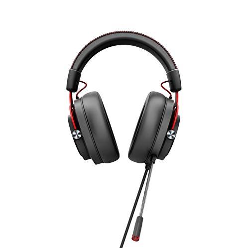 AOC GH300 - Auriculares Gaming para PC, PS4/PS5, SWITCH, Retroiluminación RGB, Conectividad USB2.0, Micrófono, Controles inegrados, Estéreo 7.1 Virtual Surround con Audio Hi-Fi (Software AOC O