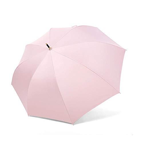 Sonnenschirm Regenschirm Long Dot Stripe Umbrella Lattice Automatische Regenschirme Für Männer Frauen Starker Regenschutz Rain Sun Umbrella Mens Pink
