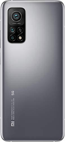 "Mi 10T Pro - Smartphone 8+256GB, display 6,67"" Full HD+, Snapdragon 865, 108MP AI Triplo-Camera, batteria 5000mAh, Alexa Hands-Free, Lunar Silver (Versione ufficiale + garanzia 2 anni)"