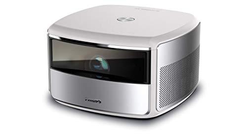 Philips Projection Screeneo S6, 4K HDR Todo en uno, Corto Alcance, con Pantalla de hasta 120
