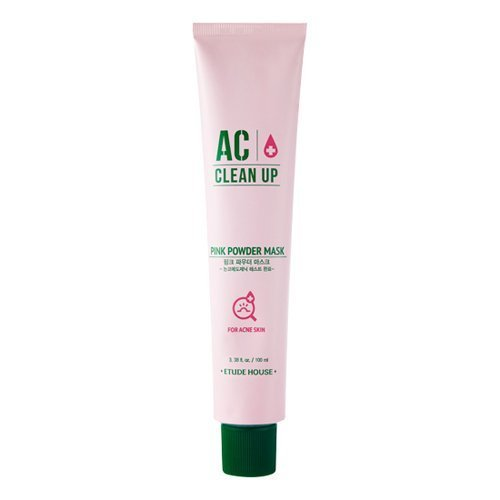 ETUDE HOUSE Ac Clean Up Pink Powder Mask (old version) | Non-comedogenic | Spot treatment solution for acne