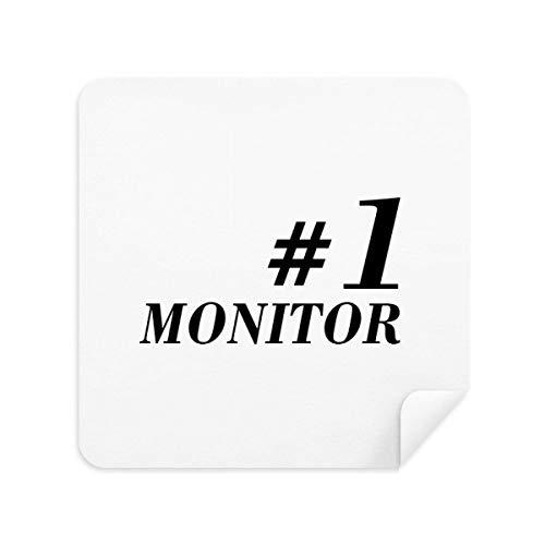 DIYthinker Number.1 Monitor Afstuderen Seizoen Bril Schoonmaken Doek Telefoon Screen Cleaner Suede Stof 2 Stks