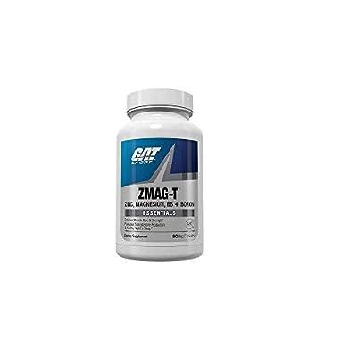 GAT Sport Essentials ZMAG-T Zinc, Magnesium, B6 + Boron, 90 Veg Capsules