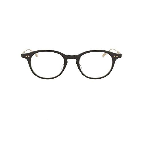 Dita Ash DRX-2073-D-BLK-GLD-49 Eyeglass Frame Black-12K Gold w/Clear Demo Lens 49mm