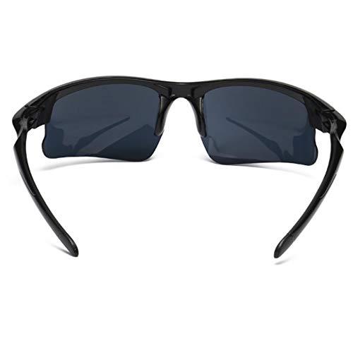 Strety Gafas de sol deportivas para hombre de conducción a prueba de explosiones, gafas de visión nocturna, cómodas y duraderas, antiUV, ciclismo, conducción en todas partes