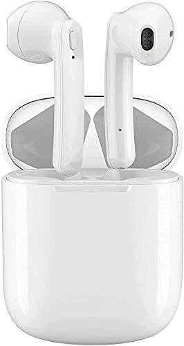 Auriculares Bluetooth 5.0 Auricular Inalámbrico Reducción de Ruido In-Ear Auriculares Inalámbricos HiFi Stereo Sport Auricular IPX7 Impermeable Control Táctil con Mic para Smartphone