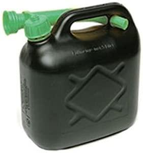 Fastcar Litre Black Plastic Jerry Can