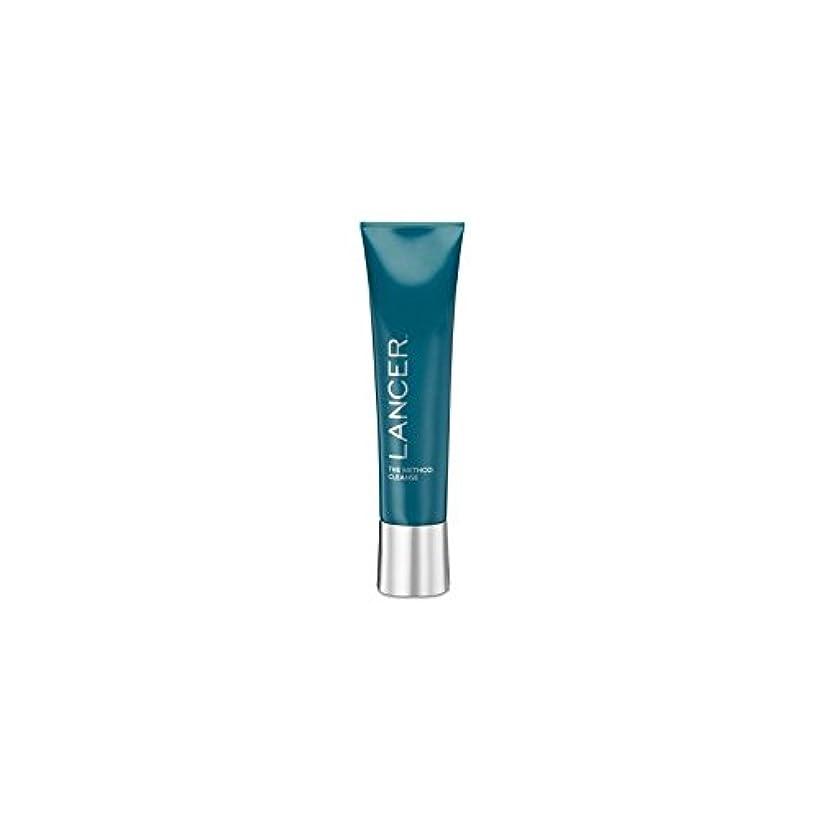 呼び起こす経験黒Lancer Skincare The Method: Cleanser (120ml) - クレンザー(120ミリリットル):ランサーは、メソッドをスキンケア [並行輸入品]