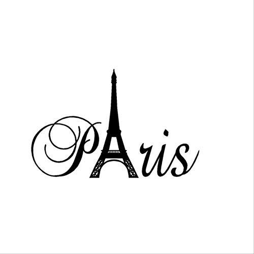 Fotobehang-Eiffeltoren muurschildering 32x50cm milieuvriendelijke klussersdecoratie