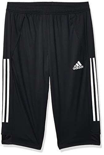 adidas CON20 3/4 PNT Sport Trousers, Hombre, Black/White, M