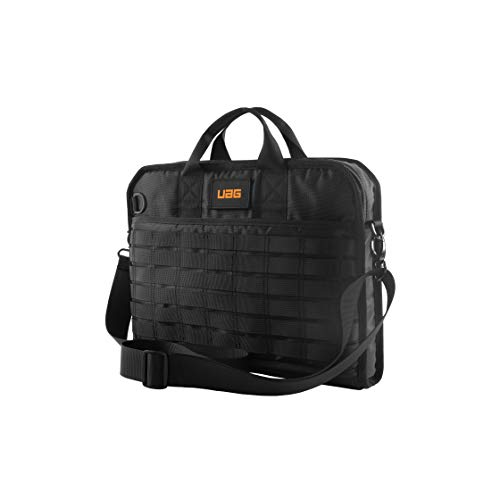 "URBAN ARMOR GEAR UAG Tactical 13"" Slim Brief - Bolsa de Transporte para Port Tiles de hasta 13"" a 14"", Resistente y Segura, con Correa para el Hombro, Color Negro"