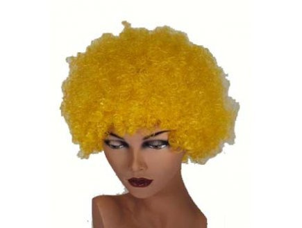 Perruque hair jaune