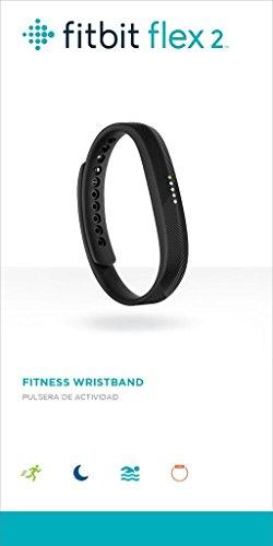 Fitbit Flex 2, Black (US Version), 1 Count
