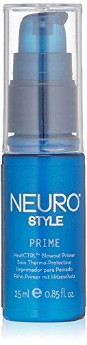 Paul Mitchell Neuro Prime HeatCTRL Blowout Primer - professionelle Haar-Lotion mit Hitze-Schutz, Föhn-Lotion für seidig-geschmeidige Haare, 25 ml