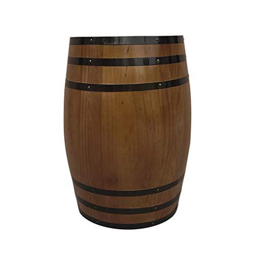 Barril de Vino de Roble Barril de Madera Barril de Vino Decoración de Barril de Vino Tinto Barril de Vino Cerveza Barril Hogar (Tamaño : 100L)