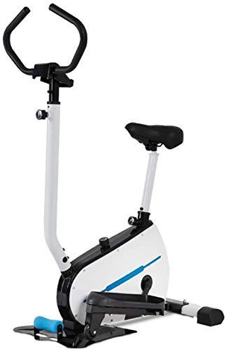TXOZ Bicicleta elíptica elíptica con soporte para pastillas, entrenamiento de bicicleta (color: B)