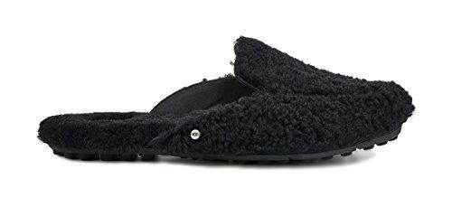 Price comparison product image UGG Women's Lane Fluff Loafer Black 5 B US