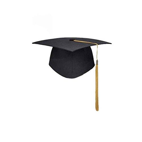 Graduación de Las borlas de la Universidad Cap Birrete Licenciatura Maestro Médico Académico Sombrero Regard