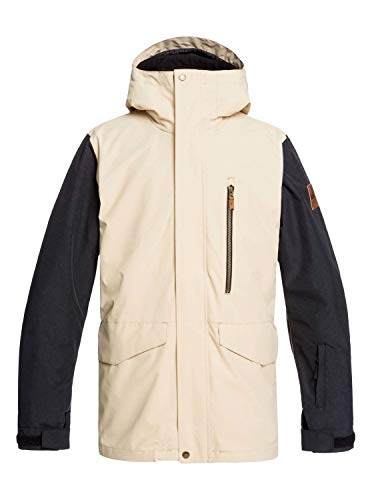 Quiksilver Mission 3 in 1 Snowboard Jacket Mens Sz XS Mojave