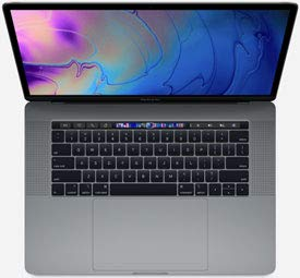Apple MacBook Pro 15' 2019 TouchBar - 2.3GHz i9 - 16GB RAM - Radeon 560X - 512GB SSD - Space Grey (Renewed)