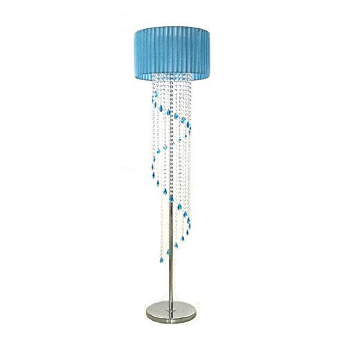 Staande lampen luxe kristallen vloerlamp slaapkamer eenvoudige moderne woonkamer kristal hanger bedlampje schaduw staande lamp verticale verlichting creatieve verlichting