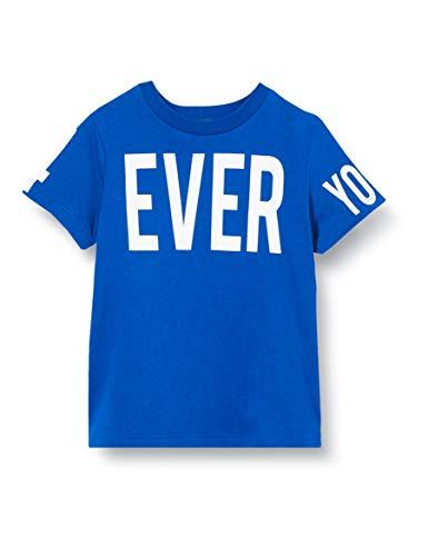 United Colors of Benetton Baby-Jungen T-Shirt Pullunder, Blau (Surf The Web 19r), 86/92 (Herstellergröße: 2y)