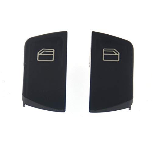 Rouku Kfz-Fenstersteuerung Ersatzteile Kunststoff-Fensterheberschalter-Tastenabdeckung (grau)