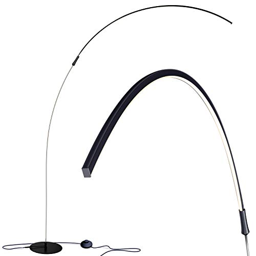 Sparq Contemporary Dimmable hanging LED Arc Floor Lamp