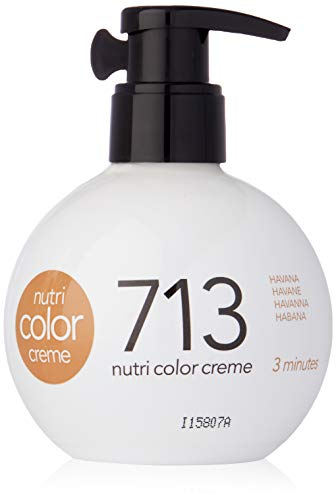 REVLON PROFESSIONAL Nutri Color Cream, Nr.713 Havanna, 1er Pack (1 x 250 ml)