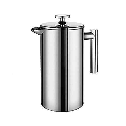 Pote De Filtro De Café De Acero Inoxidable Pote Doble Pared Y Gran Capacidad Recipiente De Café Manual (Color : 800ml)