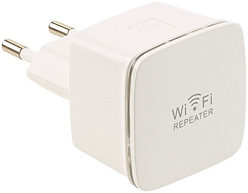 7links WiFi Repeater: Mini-WLAN-Repeater WLR-350.sm mit Access-Point & WPS-Knopf, 300 Mbit/s (WiFi Extender)