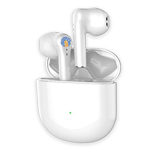 Wireless Earbuds Bluetooth 5.0 Headphones in Ear Ear Buds with Charging Case, IPX5 Waterproof Sports Headsets with Noise Cancelling Mic Touch Control for Sport