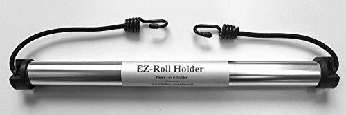 EZ-Roll Holder – Paper Towel Holder   Patented Design   Innovative Paper Towel Holder for RV, Camping, Grill, Garage. Car paper towel holder  No Tools Needed – Setup Anywhere